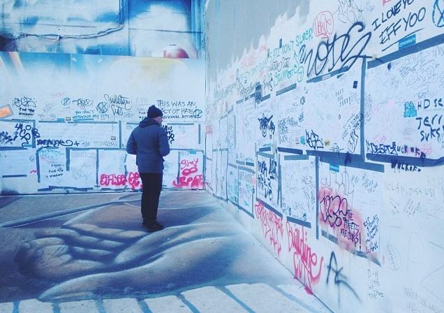 Graffitismo arte o vandalismo