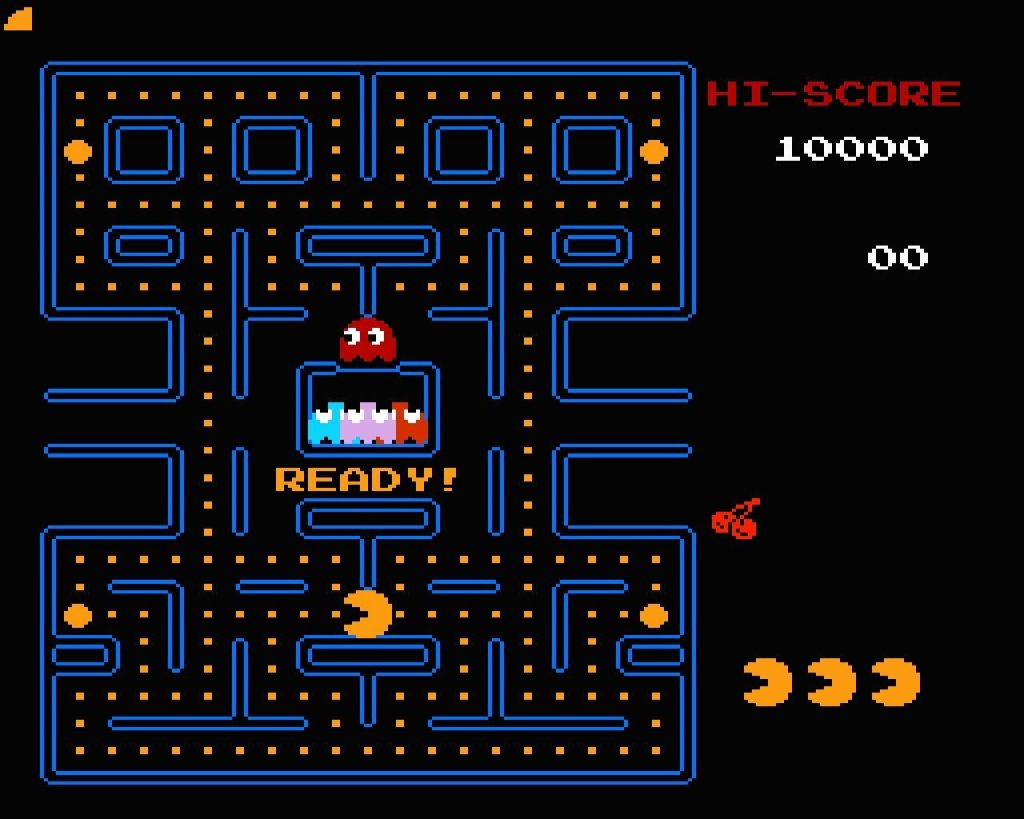 Il diritto d'autore dei videogiochi: pacman