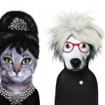 caricature personaggi famosi con volti di animali