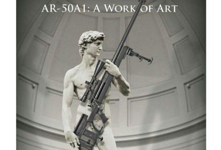 Il David di Michelangelo testimonial non pagato di un fucile americano