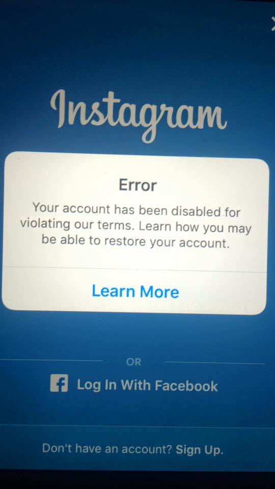 Instagram e copyright ti spiego come funziona il for Mail il tuo account e stato hackerato