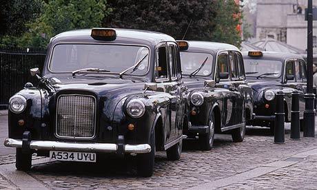 Il London Taxi e la registrazione dei marchi di forma