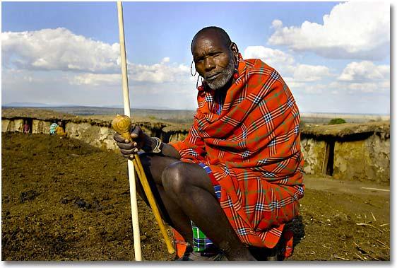 Il significato di marchio di fabbrica per i Masai