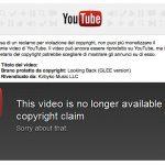 Copyright su Youtube come funziona