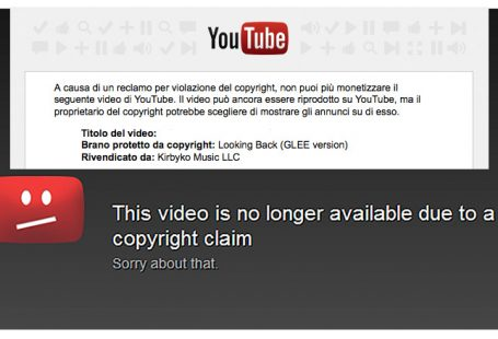 Copyright su Youtube come funziona