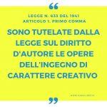 Legge diritto d'autore: come funziona il copyright in Italia