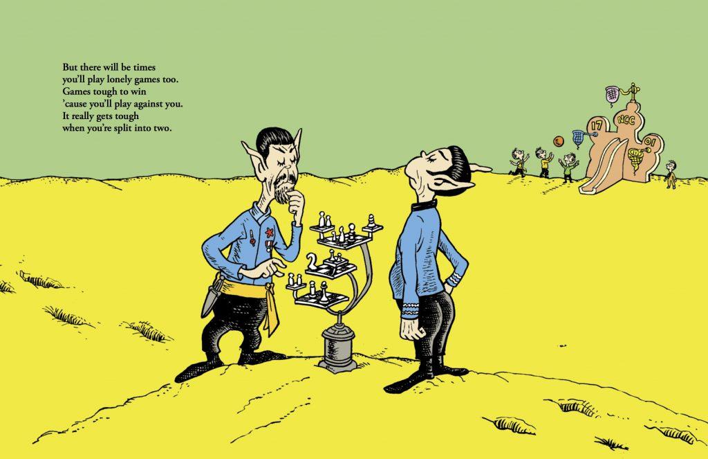 Star Trek-Dr. Seuss Mashup: la decisione della Corte di Appello