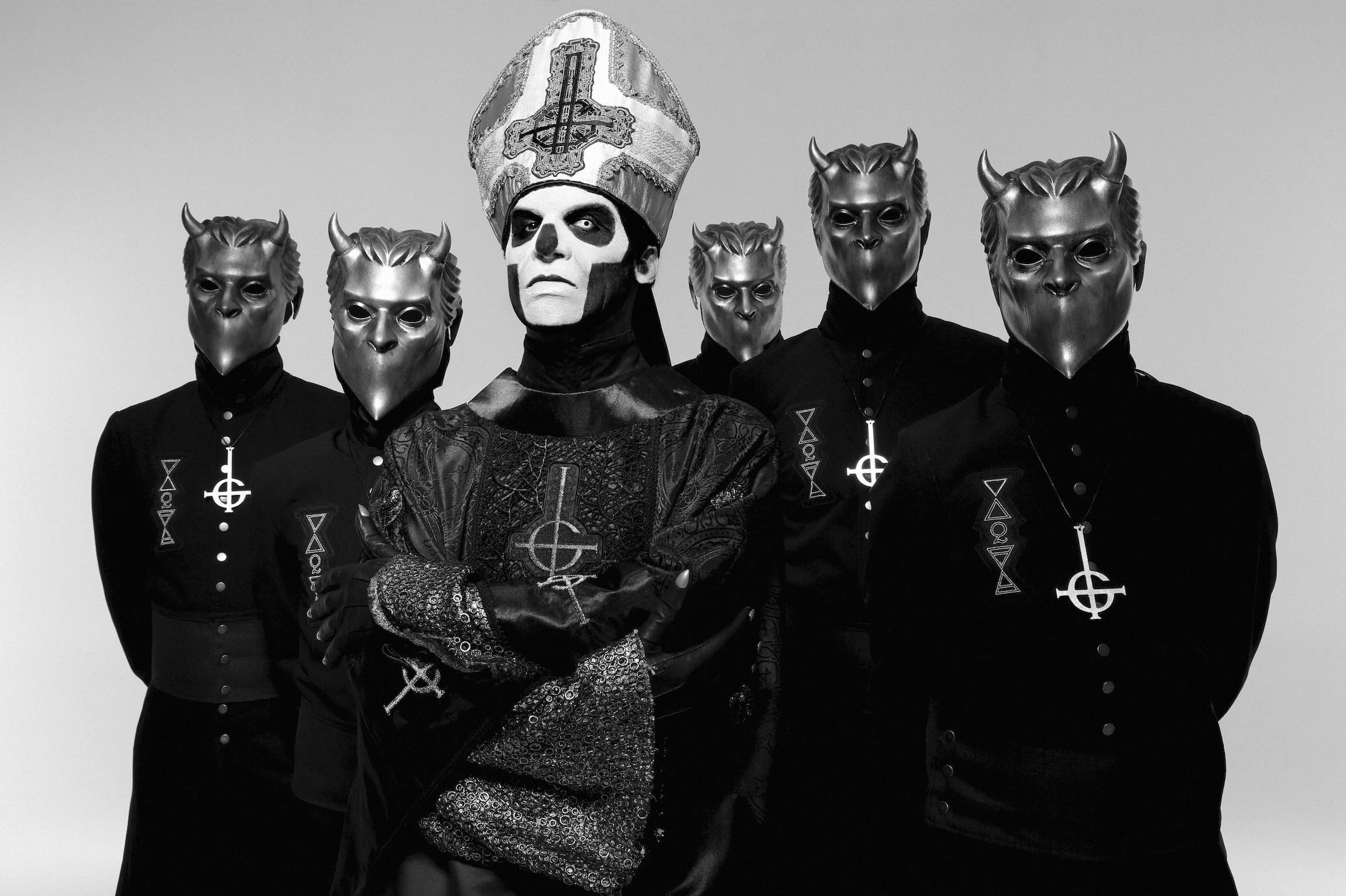 Ghost: la band fa causa a un marchio di vodka per l'uso del nome e del marchio figurativo