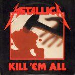 La copertina di Kill'Em All